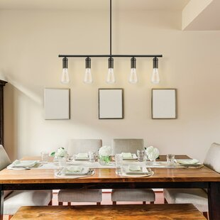 Kitchen Island Lighting Youll Love Wayfair - Long kitchen light fixtures