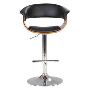 Hamner Modern Adjustable Height Swivel Bar Stool