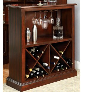 Enloe Bar with Wine Storage