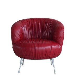 Lazzaro Leather Verona Barrel Chair