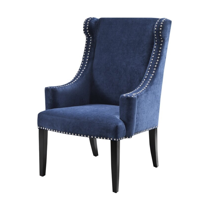 Charming Marcel Wingback Chair