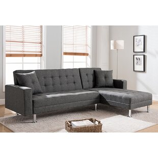 Paulin Reversible Chaise Sleeper Sectional