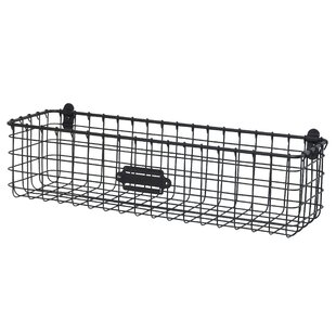 Small Wire Wall Basket | Wire Wall Mounted Baskets Wayfair