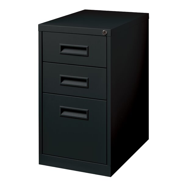 Beau CommClad 3 Drawer Mobile Pedestal File Vertical Filing Cabinet U0026 Reviews |  Wayfair