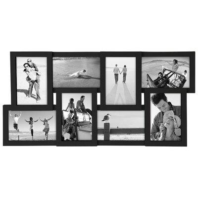 Homebeez 7 Slot Square Wood Picture Frame | Wayfair