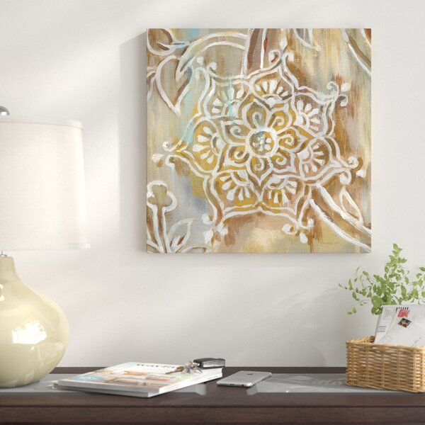 East Urban Home Henna Iii Painting Print On Canvas Wayfair