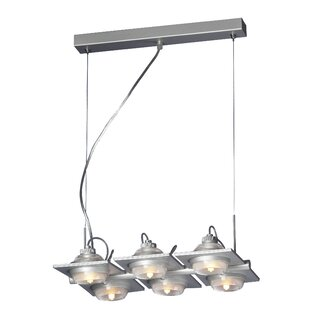 Ull 6-Light Kitchen Island Pendant by Mantra