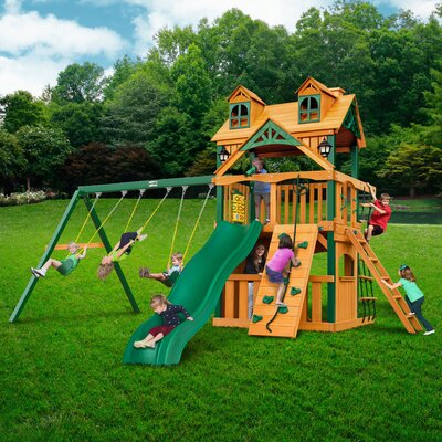 Chateau Clubhouse Swing Set