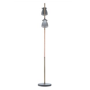 Gray floor lamps youll love wayfair davey 61 led tree floor lamp aloadofball Choice Image