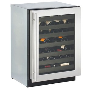 43 Bottle 3000 Series Single Zone Built-In Wine Cooler by U-Line