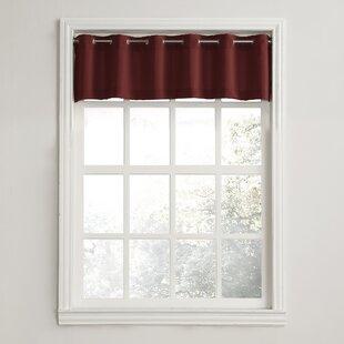 Grommet Eyelet Valances Kitchen Curtains