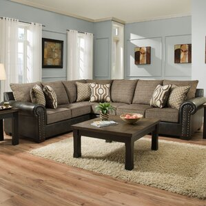 Barry Marble Sectional by Fleur De Lis Living