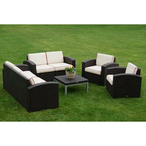 Cielo 5 Piece Deep Seating Group with Cushions