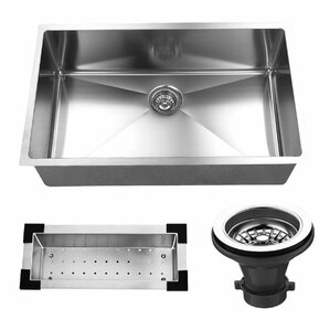 Scratch Resistant Stainless Steel Sink | Wayfair