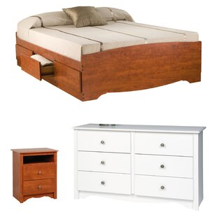 Cherry Wood Bedroom Sets You\'ll Love   Wayfair