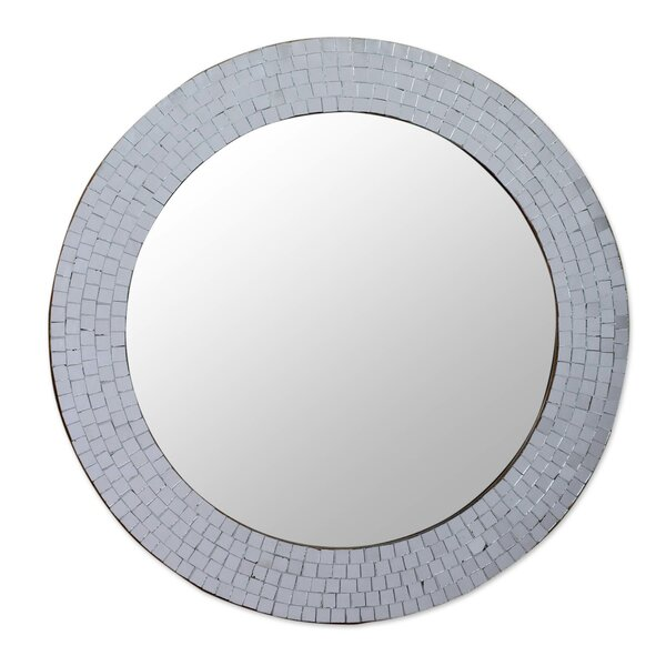 Glass Mosaic Mirror | Wayfair
