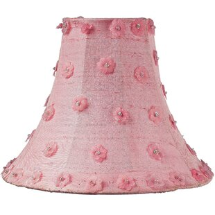 Light pink lamp shade wayfair 12 silk bell lamp shade aloadofball Choice Image
