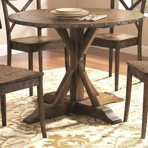 Burnsfield Wood Dining Table by Gracie Oaks