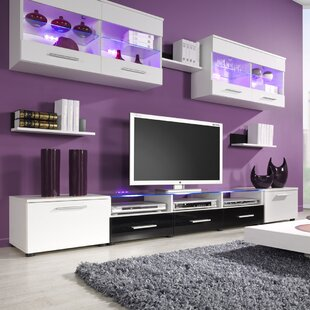 Black Entertainment Centers Youu0027ll Love | Wayfair
