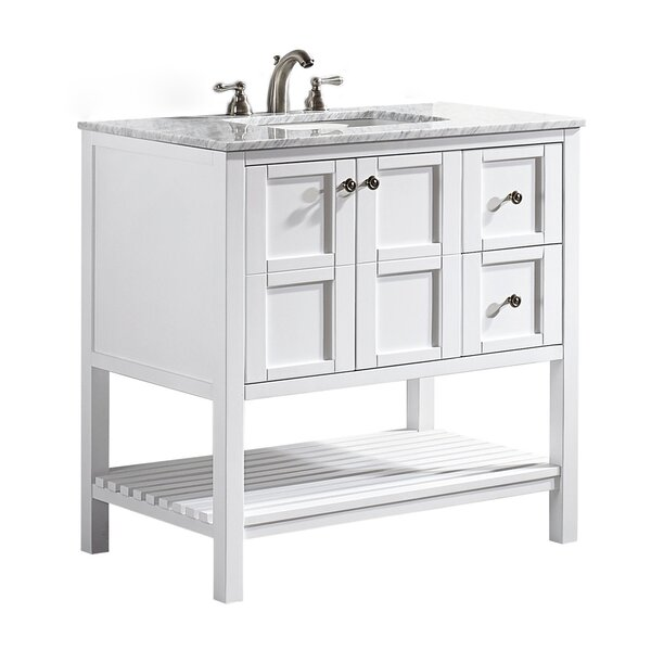 Farmhouse rustic vanities birch lane for Bathroom vanity stores near me