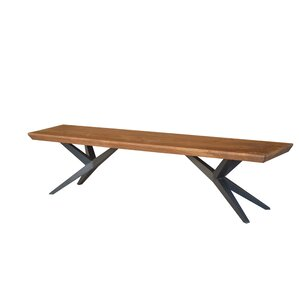 Shirleen Three Seat Bench by Union Rustic