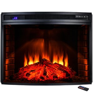 Freestanding Electric Fireplace Insert by AKDY