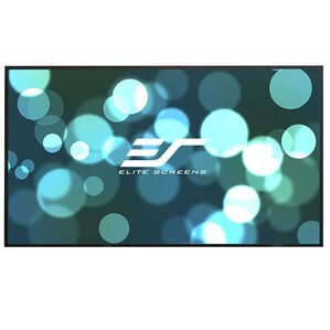 Aeon CLR Series White Fixed Frame Projection Screen