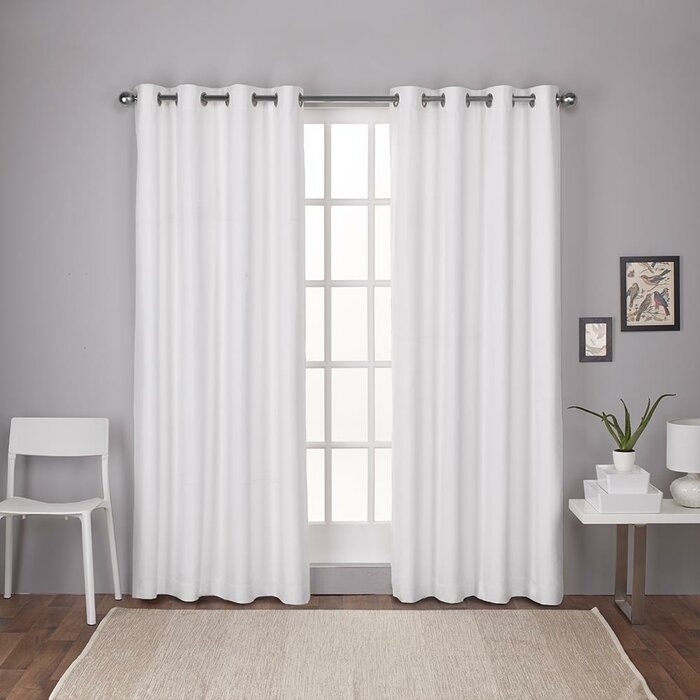 Molly Solid Thermal Grommet Curtain Panels