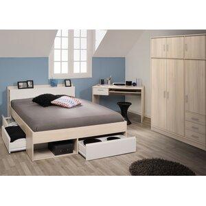 3-tlg. Schlafzimmer-Set Most, 160 x 200 cm von P..