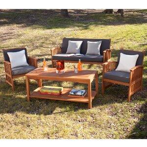 Grayville 4 Piece Sofa Set