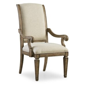 Solana Upholstered Arm Chair (Set of 2) b..