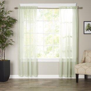 Light Green Sheer Curtains