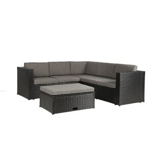 Modern Contemporary Outdoor Sectional With Storage Allmodern