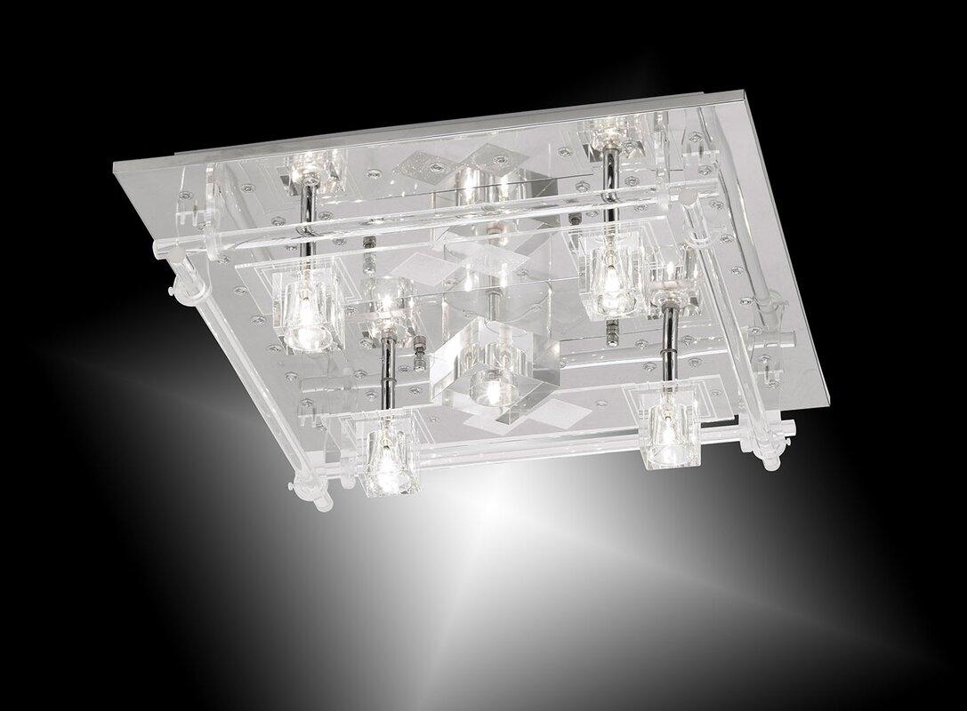 leuchten direkt deckenleuchte 5 flammig kemal bewertungen. Black Bedroom Furniture Sets. Home Design Ideas