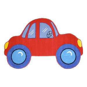 Fun Shape Medium Pile Car Area Rug