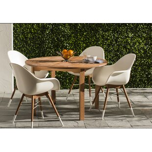 Mid Century Modern Patio Dining Sets Youll Love Wayfair