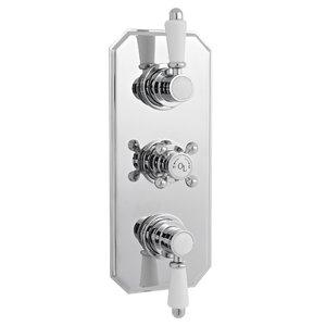 Dreigriff-Thermostat-Duscharmatur Unterputz von ..