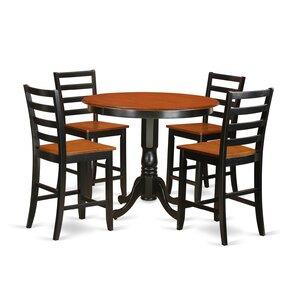 Trenton 5 Piece Counter Height Pub Table ..