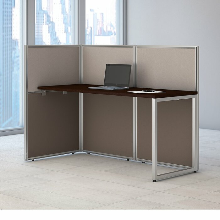Easy Office 60w Straight Desk Open