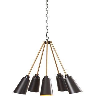 modern contemporary destinie 5 light sputnik allmodern