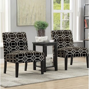 Motter Accent Armchair With End Table