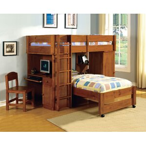 Radley Twin Bunk Bed with Storage by A..