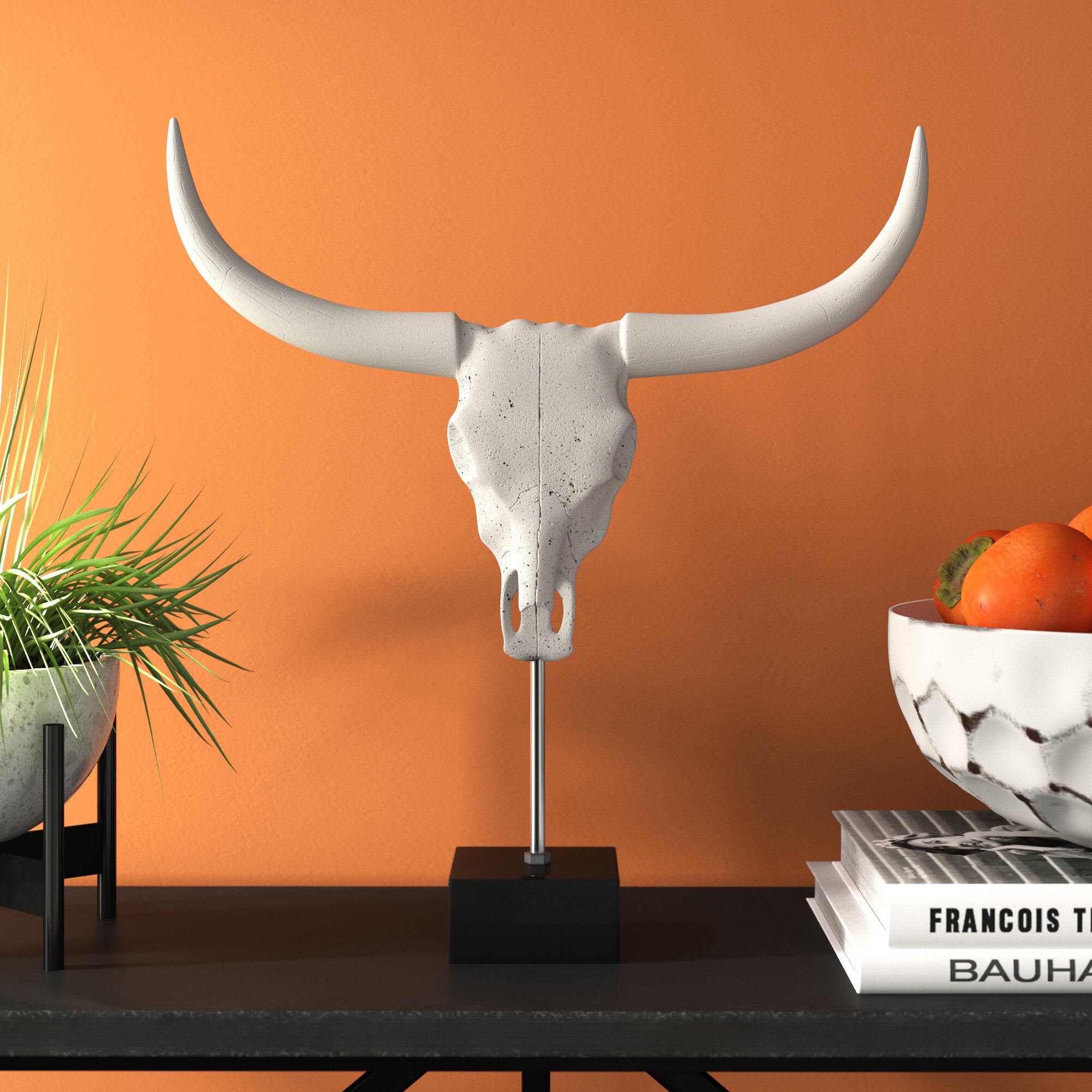 Penncross Buffalo Skull Bust
