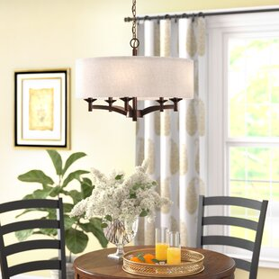 Harlan 5 Light Drum Chandelier