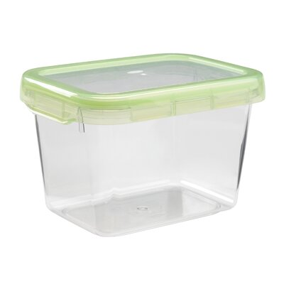 Good Grips Green Small Rectangle Locktop 5.5 Cup Food Storage Container  sc 1 st  Wayfair & OXO Good Grips Green Small Rectangle Locktop 5.5 Cup Food Storage ...