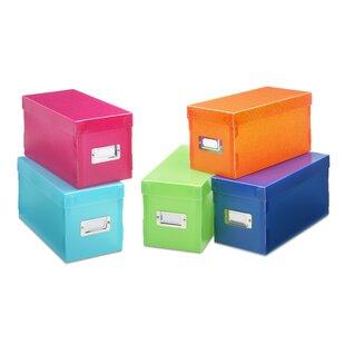 Plastic Storage Box (Set Of 5)