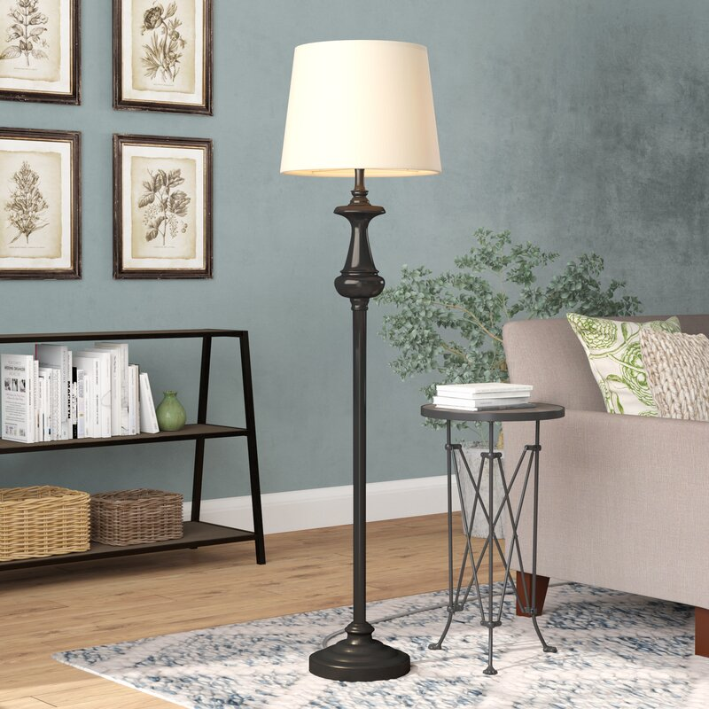 Laurel Foundry Modern Farmhouse Bess 62 Quot Floor Lamp