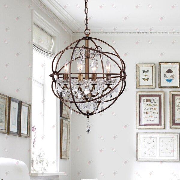 auriville 4light mini chandelier