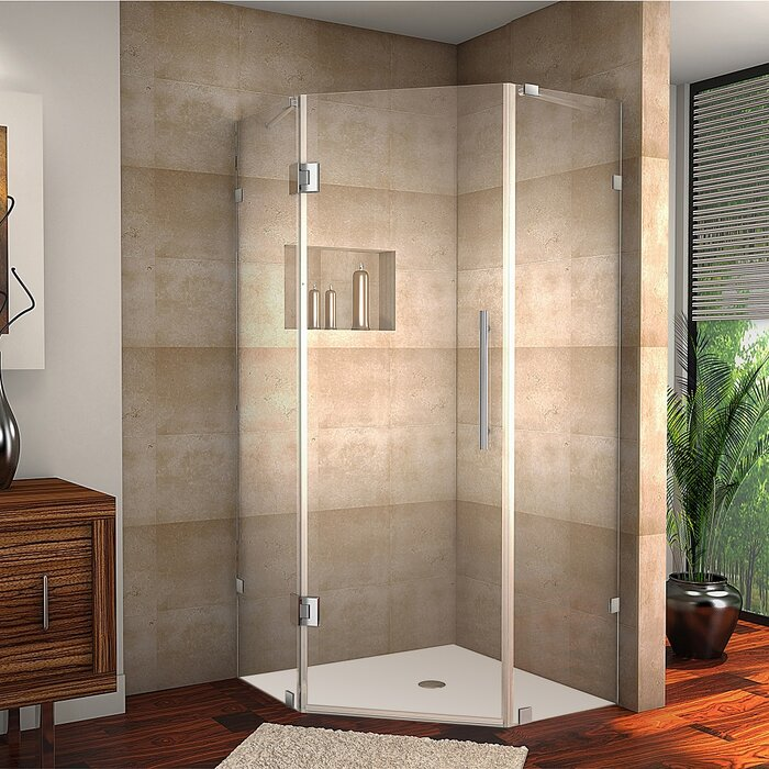 frameless easco semi door products image shower series doors