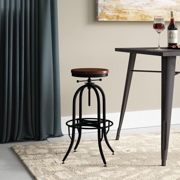 Trent Austin Design Del City Adjustable Height Swivel Bar